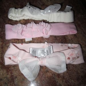 Other - Set 3 Newborn Infant Baby Girl Fancy Headbands